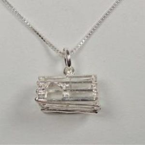 Other - STERLING SILVER NAUTICAL CRAB TRAP NECKLACE